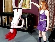 Harsh Canings and enema humiliation for a sweet girl