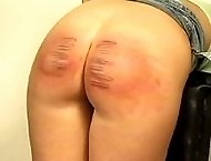 Brutal spankings and canings for 2 slutty misbehaving girls